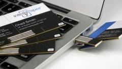 Papírból készül az USB-meghajtós névjegykártya kép