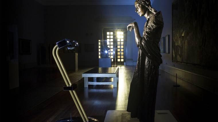 Robotok tartottak tárlatvezetést a Tate Britain-ben kép