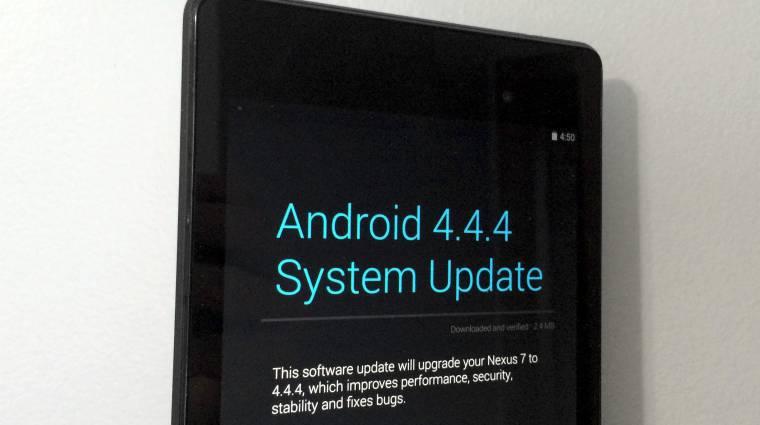 Hódít az Android KitKat kép