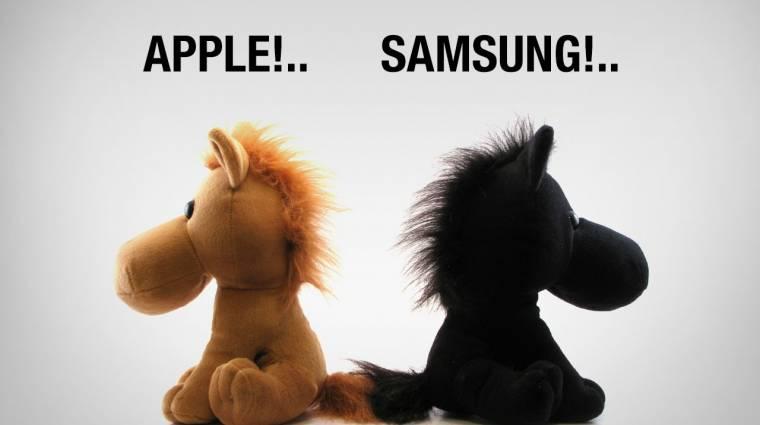 Nem gyilkolja tovább egymást az Apple és a Samsung kép