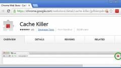 Hogyan iktassuk ki a gyorsítótárat a Chrome-ban? kép