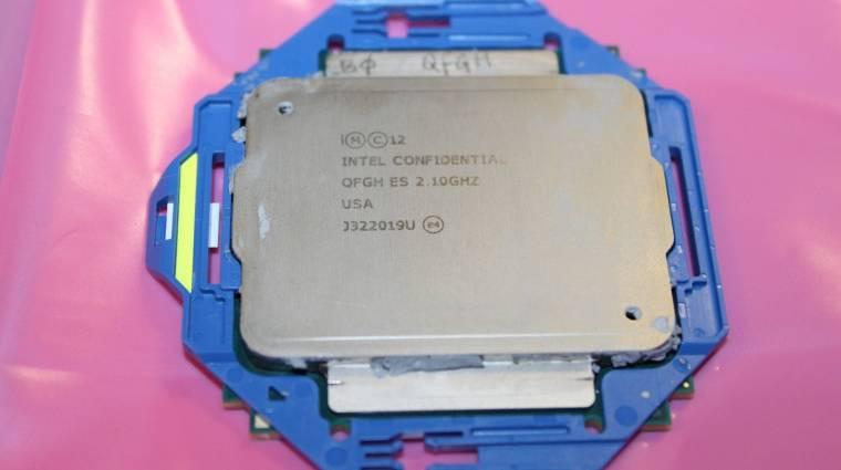 Kiderült mikor jönnek a csúcskategóriás Intel CPU-k kép
