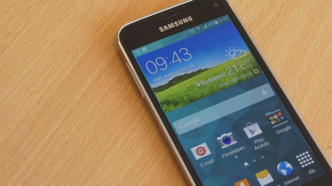 Samsung Galaxy S5 Mini teszt - Ugyanaz kicsiben kép