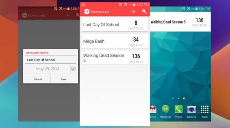 Hogyan állítsunk be egyszerre több visszaszámlálót Androidon? kép