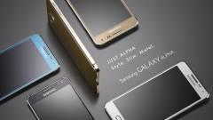 Tényleg fémből van a Samsung Galaxy Alpha kép