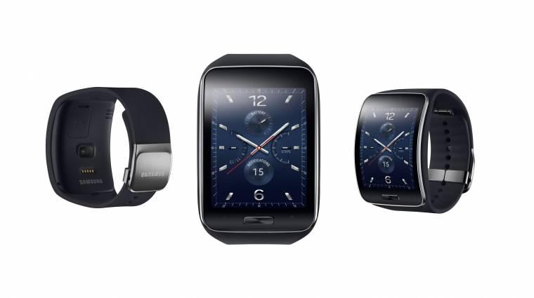 Ívelt kijelzőt kapott a Samsung Gear S kép