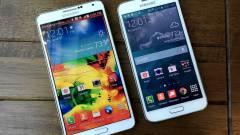 Fémbe zárul a Samsung Galaxy Note 4 kép