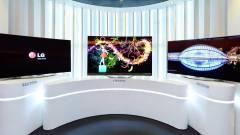 Hamarosan piacon az LG hajlított, 4K-s OLED TV-je kép