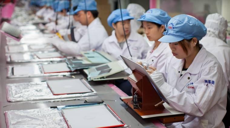 Rekordmennyiségű pénzt öl a gyártásba az Apple kép