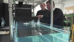 Elkészült a valódi vonósugár, vízből kép