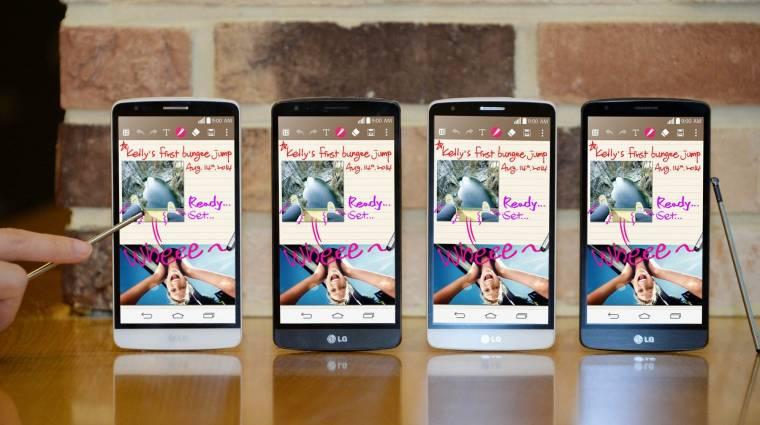 A Galaxy Note 4-gyel egyszerre jön az LG G3 Stylus kép