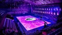 Mozgásérzékelős LED kosárpályát épített a Nike kép