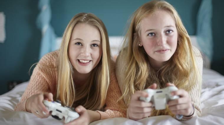 A nők is rákaptak a videojátékokra kép