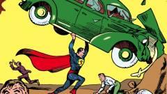 Aukción a világ legelső Superman-képregénye kép