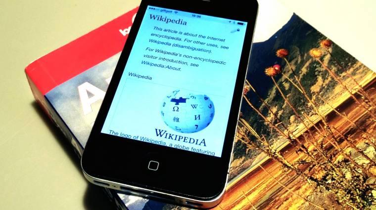 iOS-en is megújul a Wikipédia alkalmazás kép