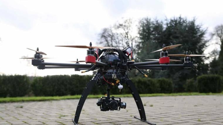 Filmezéshez már lehet drónokat használni kép