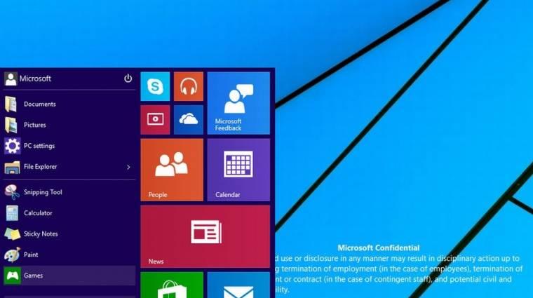 Így néz ki a Windows 9 kép