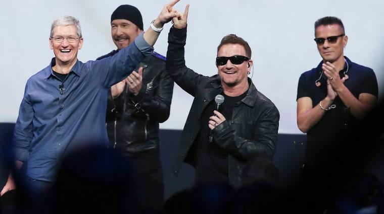 Új zenei formátumon dolgozik az Apple és Bono kép