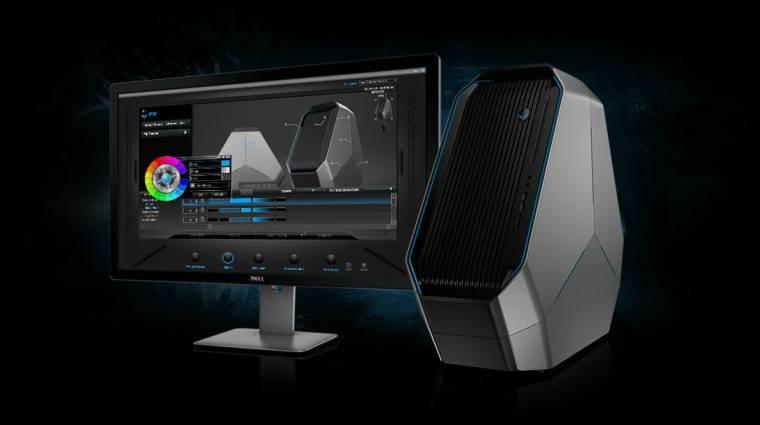 Intel csúcsprocesszorral támad az Alienware új asztali gépe kép