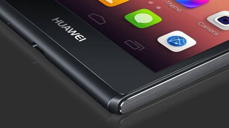 Zafírüveget kapott a Huawei Ascend P7 kép