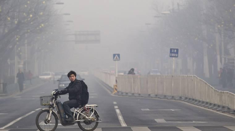 Kína több üvegházgázt termel, mint az USA és az EU együttvéve kép