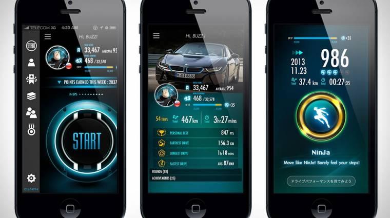 Hogyan elemezzük a vezetési stílusunkat egy iPhone-nal? kép