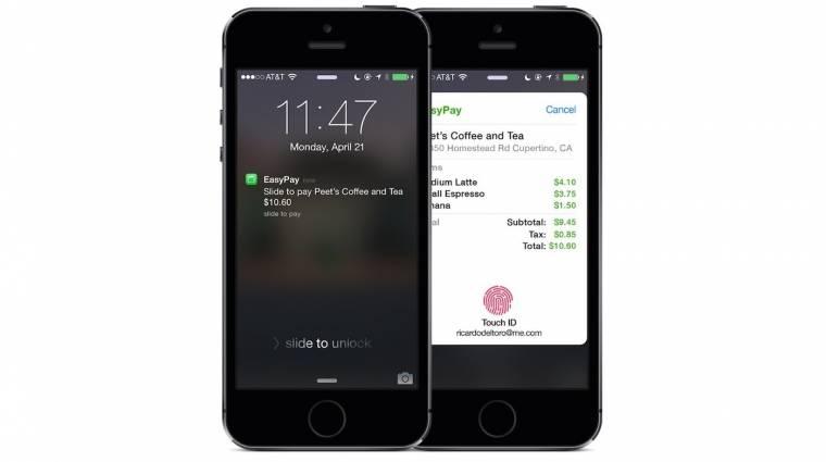 Tokeneket használ az Apple fizetési rendszere kép