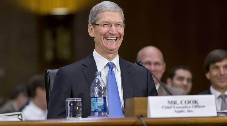 Több milliárd euróra büntetné az Apple-t az EU kép