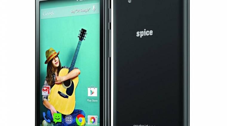 Lelepleződött az első Android One okostelefon kép