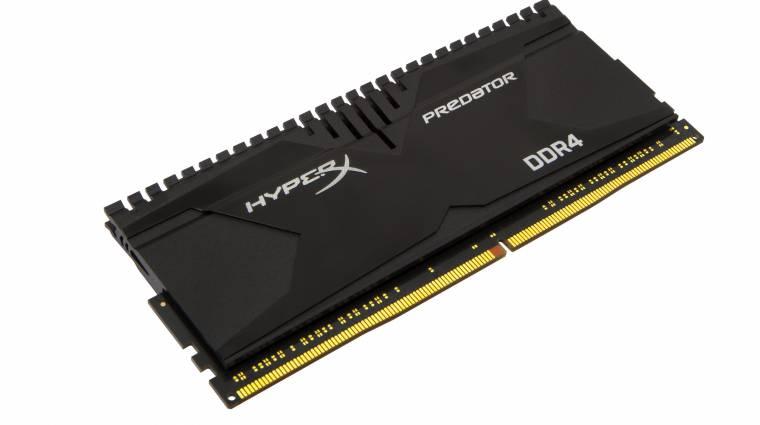 DDR4-es memóriákkal frissített a Kingston kép