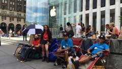 Már most sorban állnak az iPhone 6-ért kép