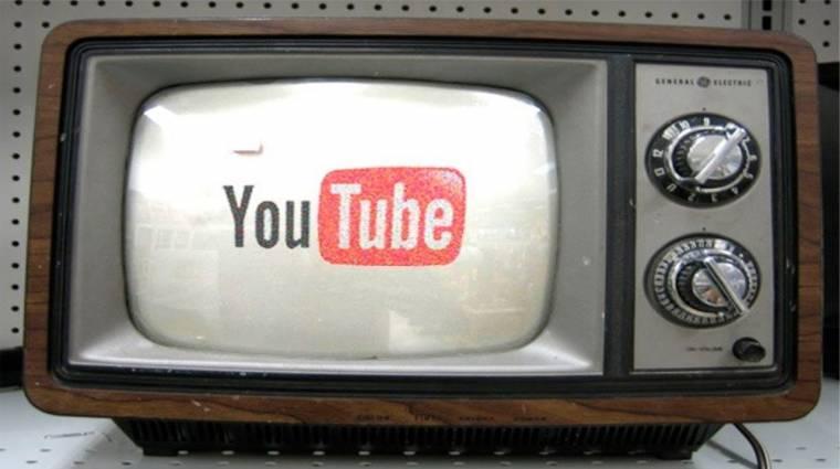 A YouTube-on tévézünk a legtöbbet kép