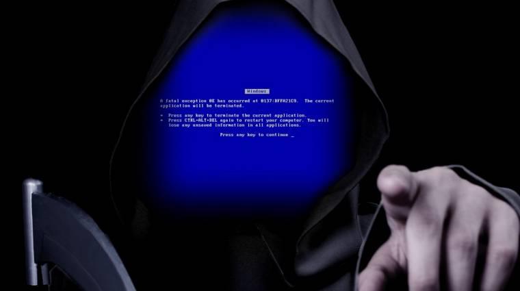 Steve Ballmer-nek köszönhetjük a kék halált kép