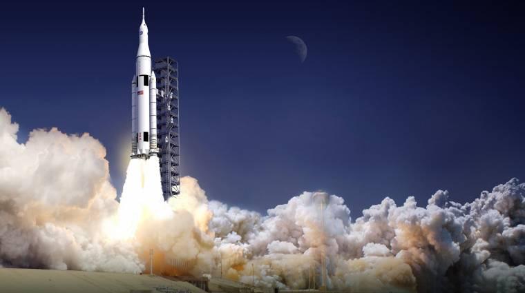 A világ legnagyobb rakétáját fejleszti a NASA kép