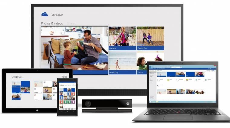Duplájára nő a OneDrive tárolókapacitása kép