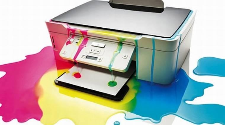 Hogyan használjunk kevesebb festéket nyomtatáskor? kép