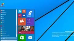 Videón a Windows 9 Start menüje kép