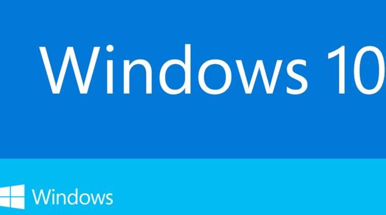Itt a Windows 10, és holnaptól letölthető kép