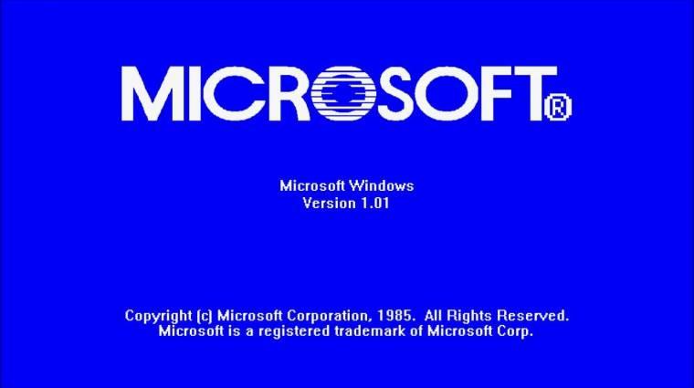 A Windows elmúlt 30 éve kép