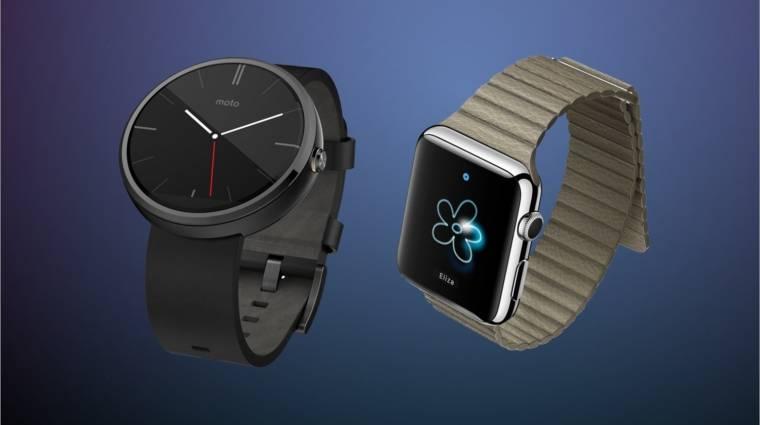 Okosőrület: Android Wear vagy Apple Watch? kép