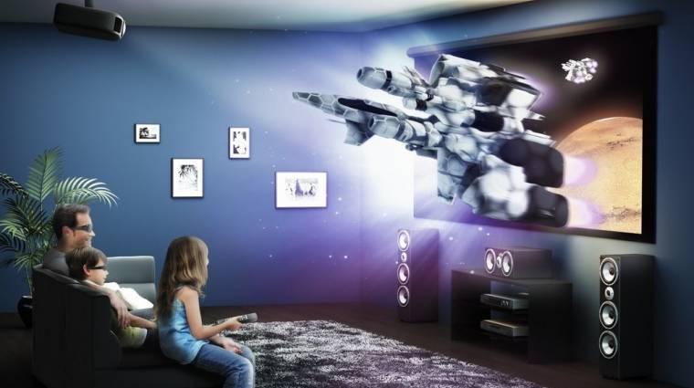 Vetíts otthon 3D-ben! kép