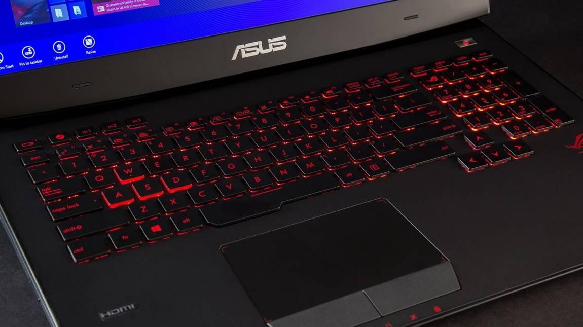 ASUS RoG G751 - PC teljesítmény notebook bőrben kép