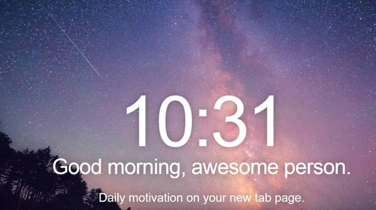 Így varázsold át a Chrome új lapját kép