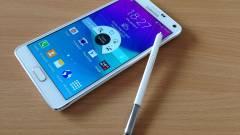Samsung Galaxy Note 4 teszt - Tollas fém kép