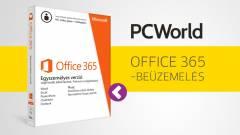 Így üzemeld be az ajándék Office 365-öt kép