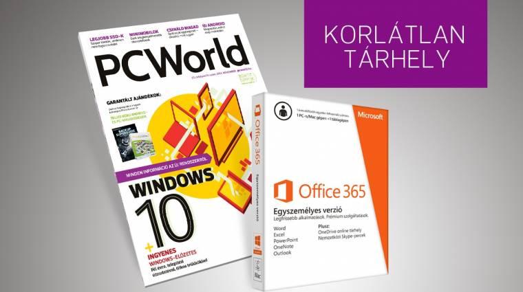 Korlátlan tárhely a PC World előfizetőinek kép