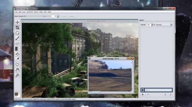 Pixelitor: többplatformos képszerkesztő ingyen kép