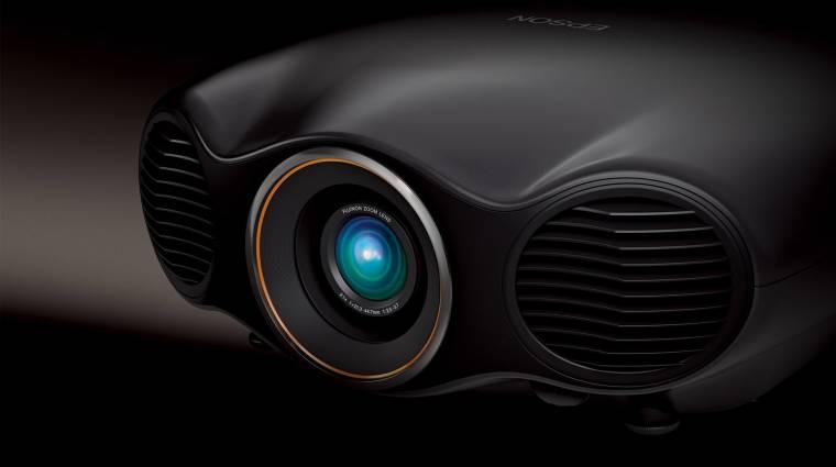 Ilyen az Epson 4K-s, lézeres projektora kép