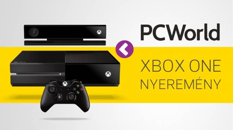 Nyerj velünk egy Xbox One-t kép