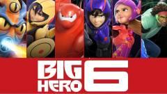 Így készült a Hős6os, a világ legösszetettebb animációs filmje kép